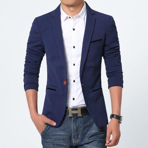 How to Wear Mens Slim Fit Blazer
