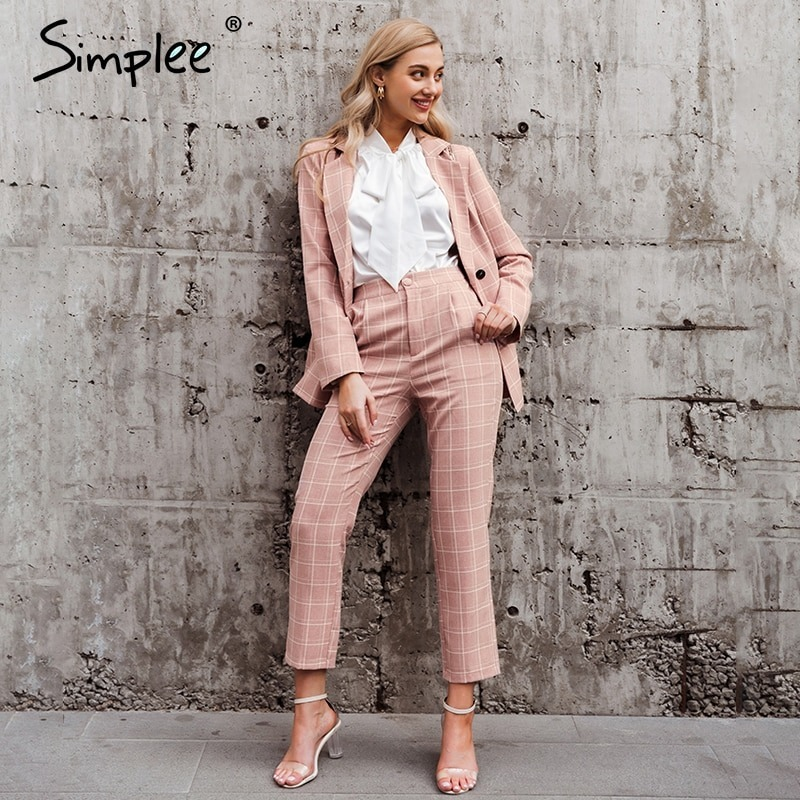 Perfect Pairing For a Hot Pink Blazer