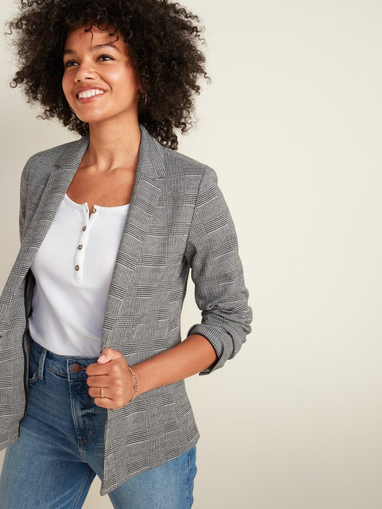 How to Wear an Old Navy Blazer