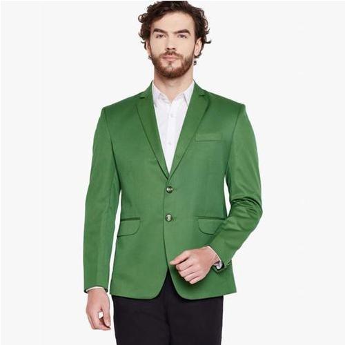 The Trendy Look of Green Blazer Men's Clothing