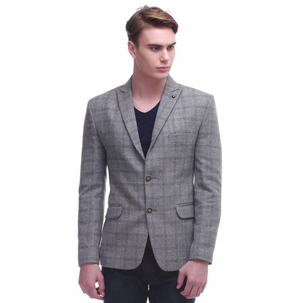 Tips On Wearing Grey Blazers