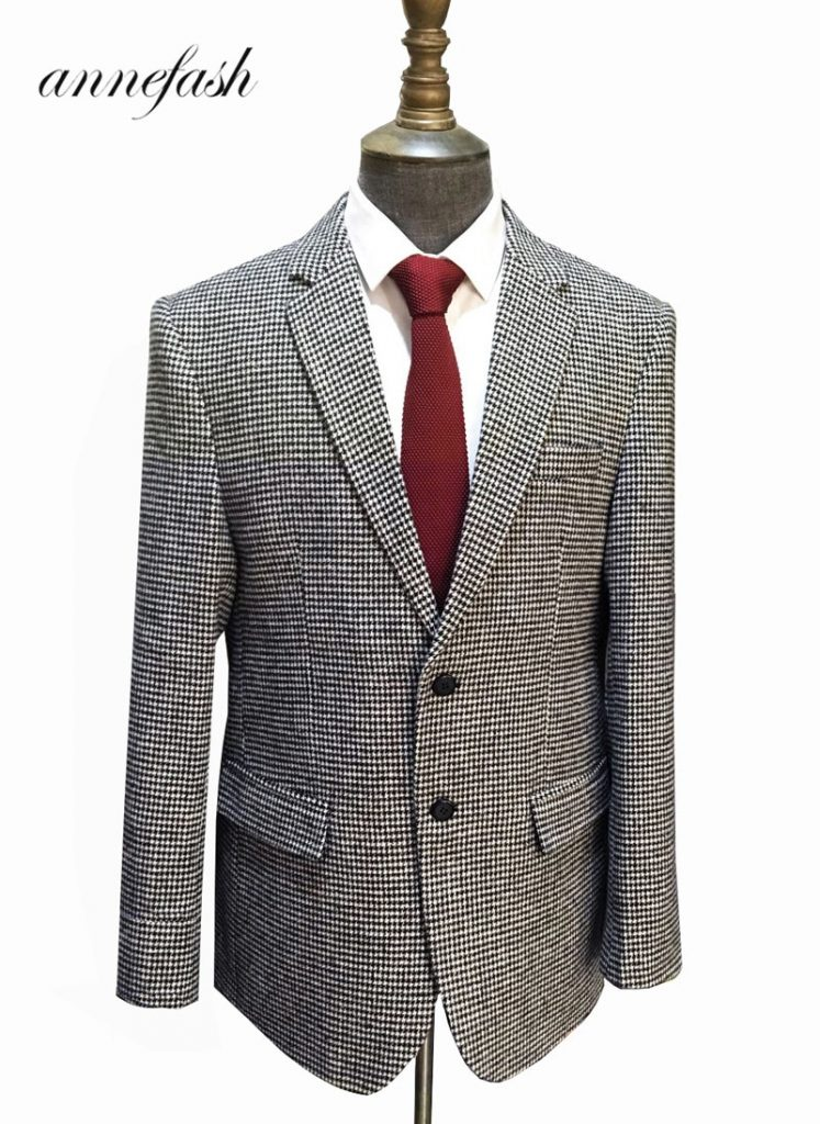 Why You Should Buy A Houndstooth Blazer