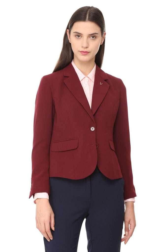Finding a Great Burgundy Blazer For Less