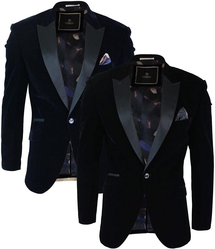 Black Velvet Blazer - Elegant and Chic