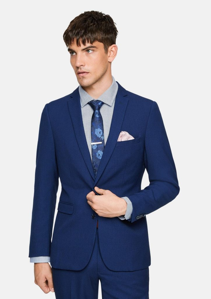 How to Wear Mens Skinny Ties With Formal Wear