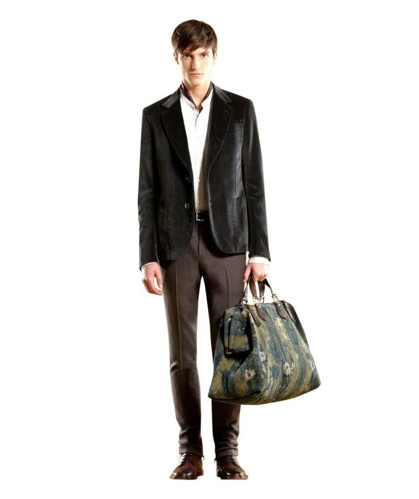 The Green Velvet Blazer Mens Jacket