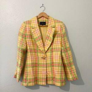 Yacht Club Fashion - The versatility of the Yellow Plaid Blazer