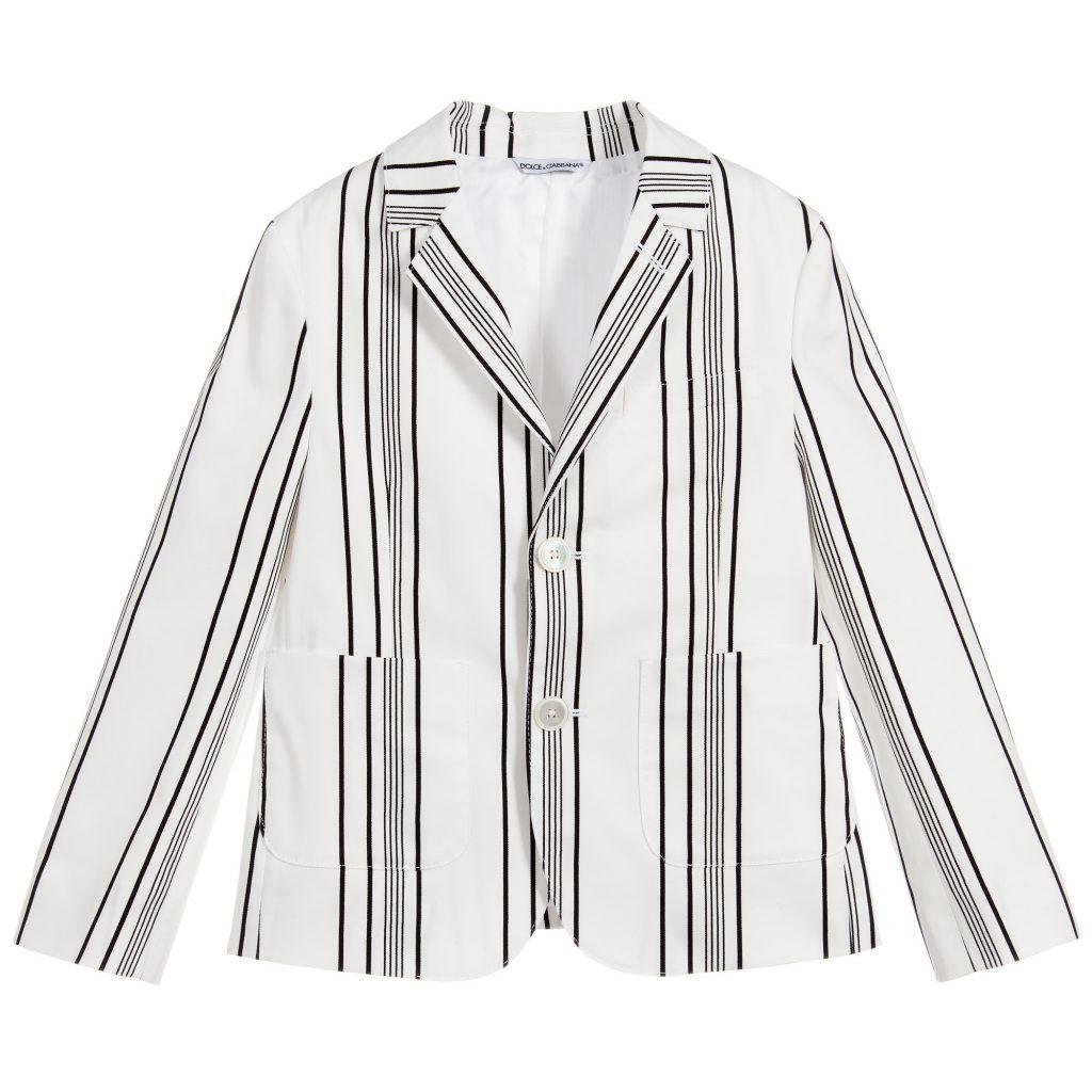 striped Blazer - Perfect For Casual Wear