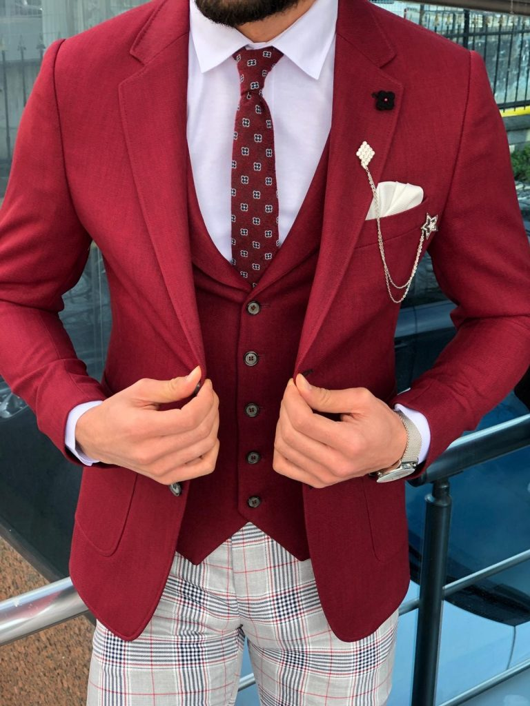 Can I Wear A Red Blazer With Jeans?