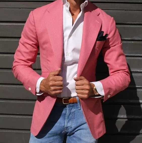 Hot Pink Blazer - Add Some Color To Your Jeans With A Blazer